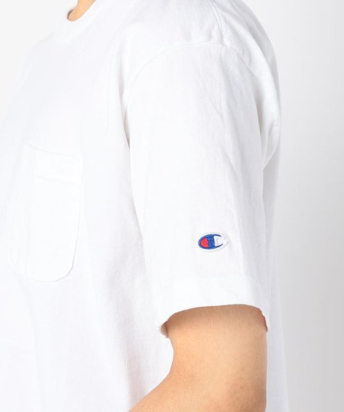 GLOSTER(GLOSTER)/【Champion/チャンピオン】T1011 ポケット付き US Tシャツ/9-0670-2-53-010_img06