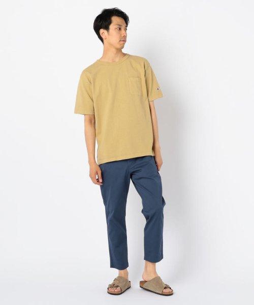 GLOSTER(GLOSTER)/【Champion/チャンピオン】T1011 ポケット付き US Tシャツ/9-0670-2-53-010_img12