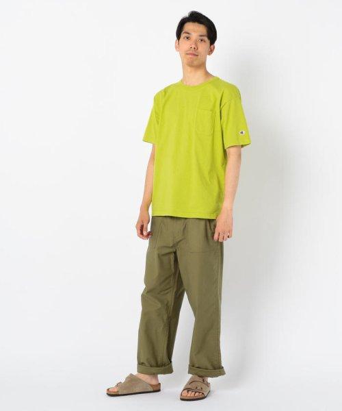GLOSTER(GLOSTER)/【Champion/チャンピオン】T1011 ポケット付き US Tシャツ/9-0670-2-53-010_img13