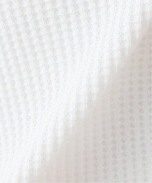 SLOBE IENA(スローブ イエナ)/ベーシックワッフルノースリーブTシャツ◆/19070912321020_img20