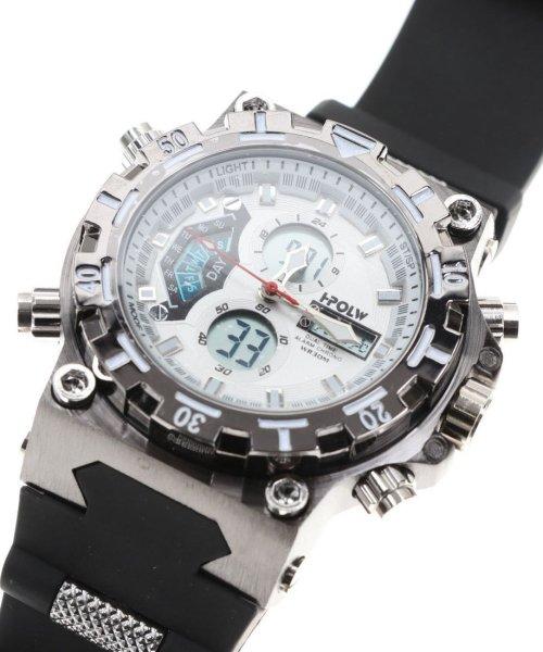 SP(エスピー)/【HPFS】アナデジ アナログ&デジタル腕時計 HPFS628 メンズ腕時計 デジアナ/WTHPFS628_img02