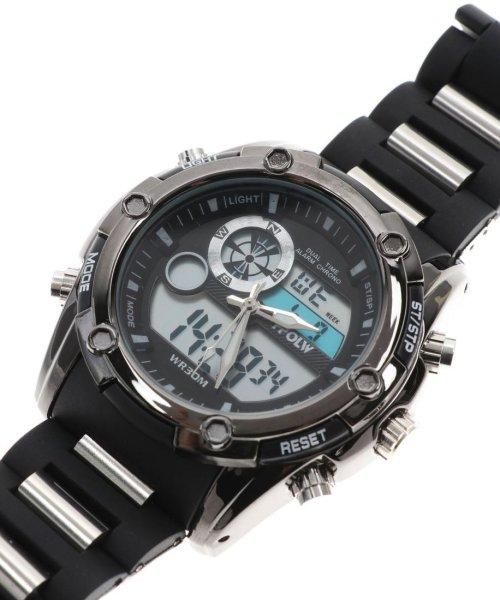 SP(エスピー)/【HPFS】アナデジ アナログ&デジタル腕時計 HPFS618A メンズ腕時計 デジアナ/WTHPFS618A_img02