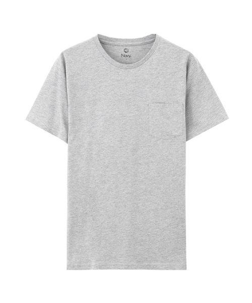 MAC HOUSE(men)(マックハウス(メンズ))/Navy オーガニックコットン クルーネックTシャツ MH/03489SS/01222005924_img06