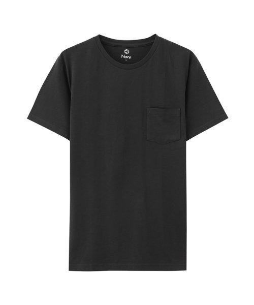 MAC HOUSE(men)(マックハウス(メンズ))/Navy オーガニックコットン クルーネックTシャツ MH/03489SS/01222005924_img07