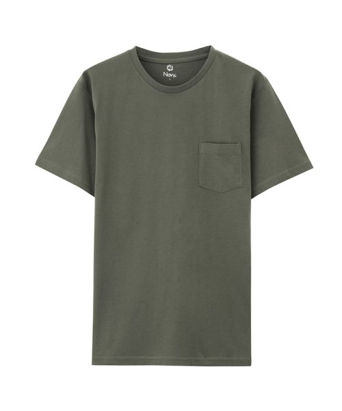 MAC HOUSE(men)(マックハウス(メンズ))/Navy オーガニックコットン クルーネックTシャツ MH/03489SS/01222005924_img09