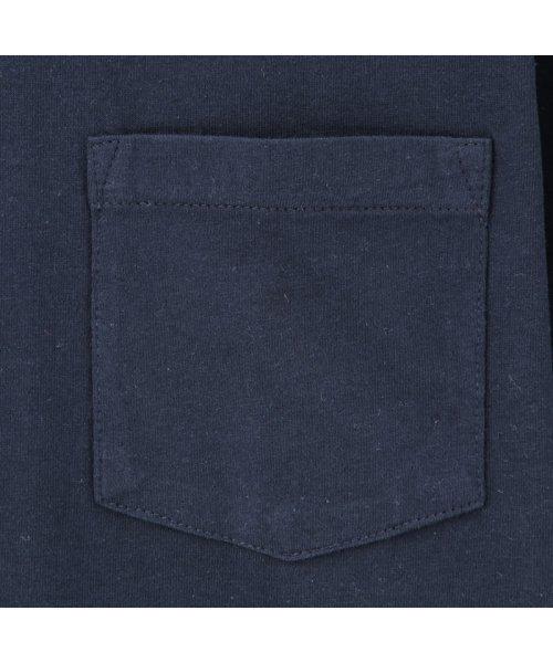 MAC HOUSE(men)(マックハウス(メンズ))/Navy オーガニックコットン クルーネックTシャツ MH/03489SS/01222005924_img13