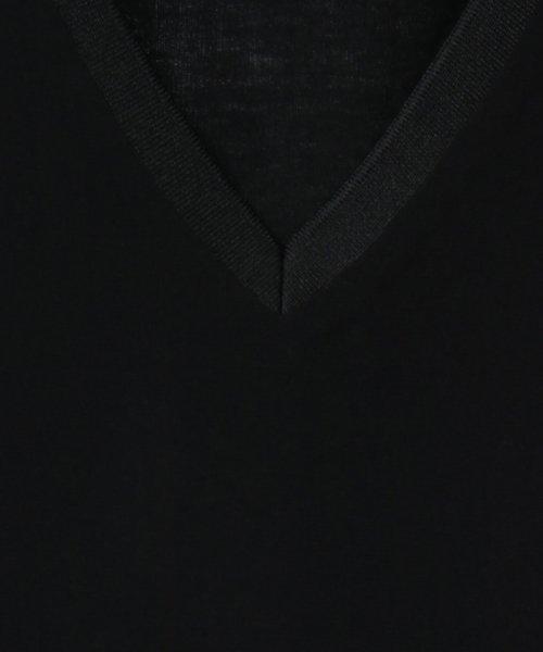 SCOTCLUB(スコットクラブ)/GRANDTABLE(グランターブル) シアーレイヤードブラウス/021326183_img10