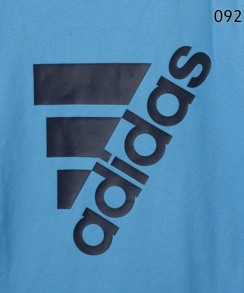 HusHush(Kids)(ハッシュアッシュ(キッズ))/【110-160cm】adidas ラバーロゴTシャツ(一部店舗・WEB限定)/99990951211011_img10