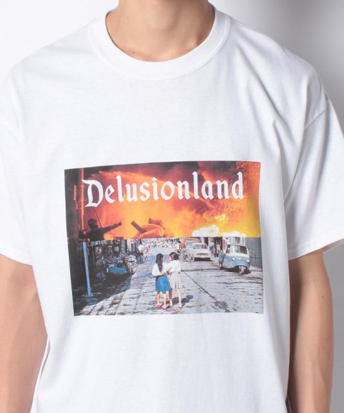 ONEDAY KMC(ワンデイケイエムシー)/DELUSION LAND / GIRL TEE/DLL01GIL_img03