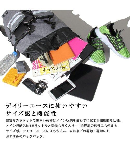 REGiSTA(レジスタ)/へザーナイロンリフレクターフラップバックパック/リュック/601_img01