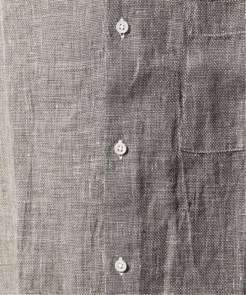 JOURNAL STANDARD relume Men's(ジャーナルスタンダード レリューム メンズ)/Linen Panama バンドカラーシャツ/19051464310010_img37