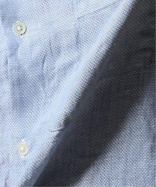 JOURNAL STANDARD relume Men's(ジャーナルスタンダード レリューム メンズ)/Linen Panama バンドカラーシャツ/19051464310010_img43