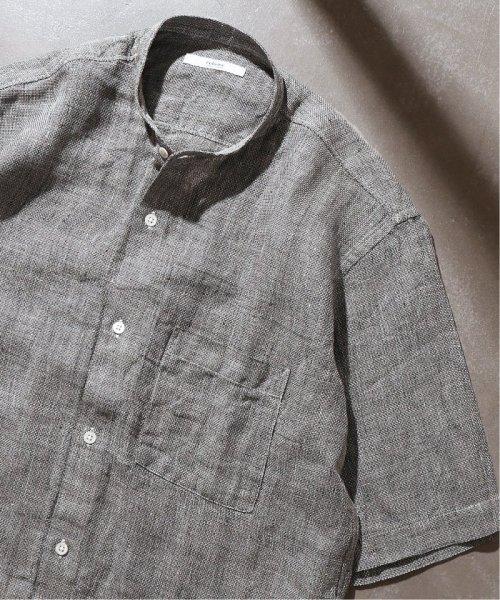 JOURNAL STANDARD relume Men's(ジャーナルスタンダード レリューム メンズ)/Linen Panama バンドカラーシャツ/19051464310010_img44