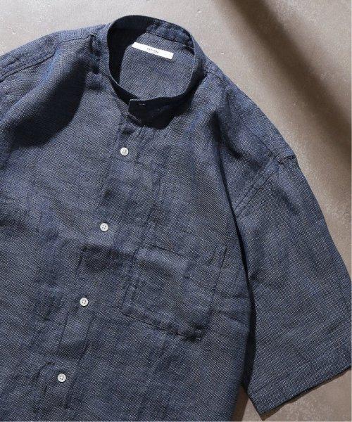 JOURNAL STANDARD relume Men's(ジャーナルスタンダード レリューム メンズ)/Linen Panama バンドカラーシャツ/19051464310010_img45