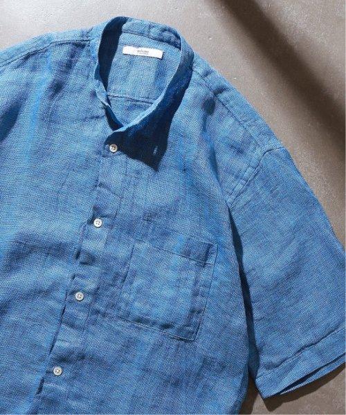 JOURNAL STANDARD relume Men's(ジャーナルスタンダード レリューム メンズ)/Linen Panama バンドカラーシャツ/19051464310010_img46