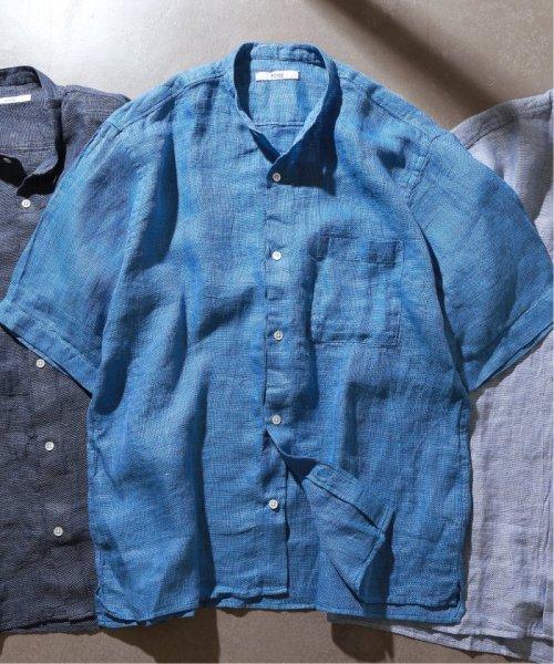 JOURNAL STANDARD relume Men's(ジャーナルスタンダード レリューム メンズ)/Linen Panama バンドカラーシャツ/19051464310010_img47