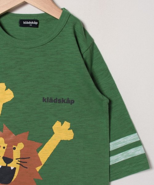kladskap(クレードスコープ)/バンザイライオンライン入りTシャツ/5393224_img02