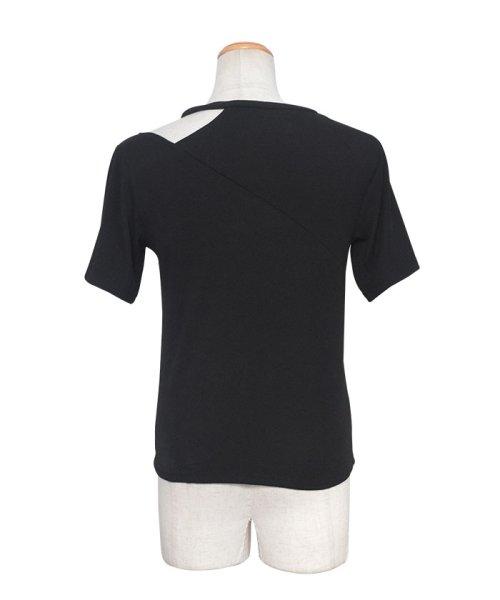 ANDJ(ANDJ(アンドジェイ))/肩開きテレコTシャツ/ts75x04412_img25