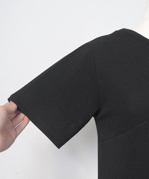 ANDJ(ANDJ(アンドジェイ))/肩開きテレコTシャツ/ts75x04412_img33