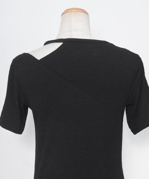 ANDJ(ANDJ(アンドジェイ))/肩開きテレコTシャツ/ts75x04412_img34