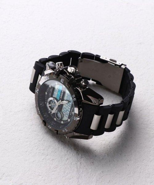 SP(エスピー)/【HPFS】アナデジ アナログ&デジタル腕時計 HPFS615 メンズ腕時計 デジアナ/WTHPFS615_img02