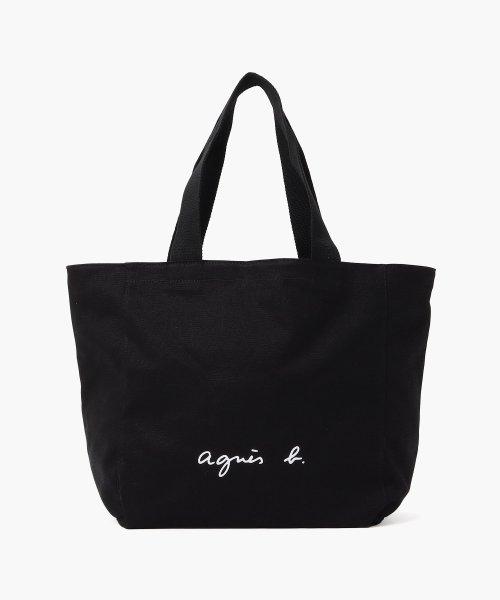 agnes b. Voyage(アニエスベー ボヤージュ)/【WEB限定】GO03‐01 ロゴトートバッグ/M191VSA9E16C_img07