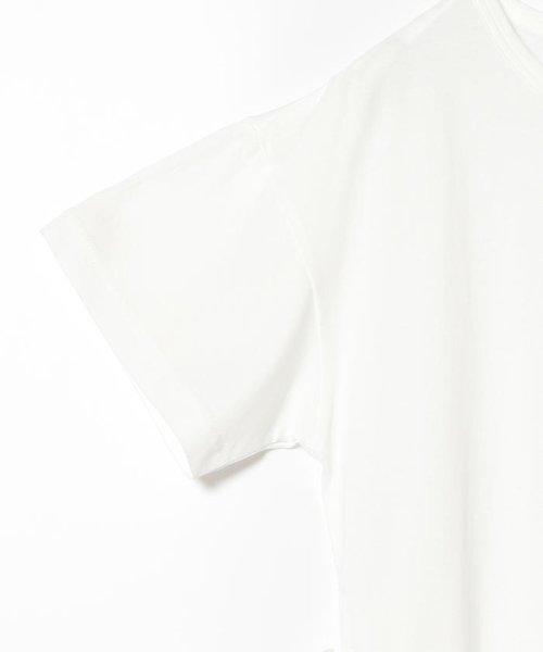 Ray BEAMS(レイビームス)/Ray BEAMS / サイド リボン クルーネック Tシャツ/63040294370_img05