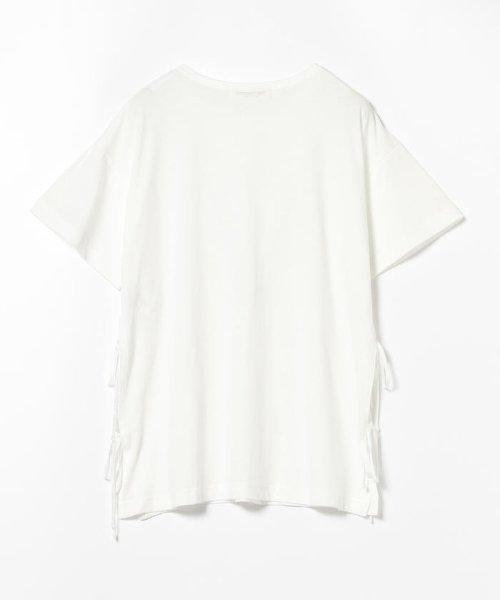 Ray BEAMS(レイビームス)/Ray BEAMS / サイド リボン クルーネック Tシャツ/63040294370_img07