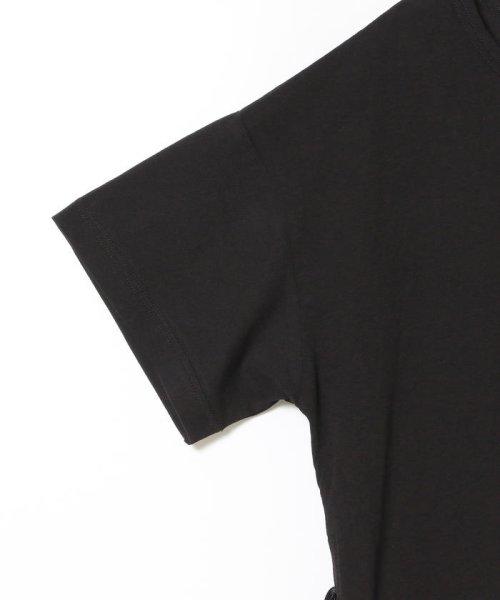 Ray BEAMS(レイビームス)/Ray BEAMS / サイド リボン クルーネック Tシャツ/63040294370_img10