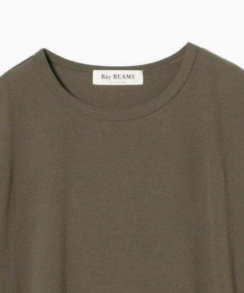 Ray BEAMS(レイビームス)/Ray BEAMS / サイド リボン クルーネック Tシャツ/63040294370_img14