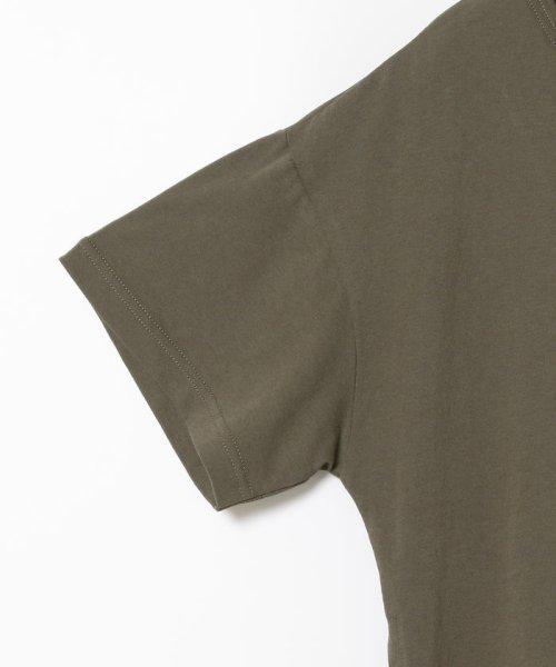 Ray BEAMS(レイビームス)/Ray BEAMS / サイド リボン クルーネック Tシャツ/63040294370_img15