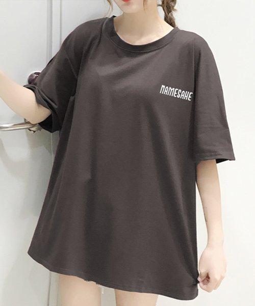 felt maglietta(フェルトマリエッタ)/オーバーサイズバックプリントTシャツ/am219_img04