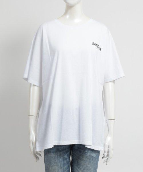 felt maglietta(フェルトマリエッタ)/オーバーサイズバックプリントTシャツ/am219_img06