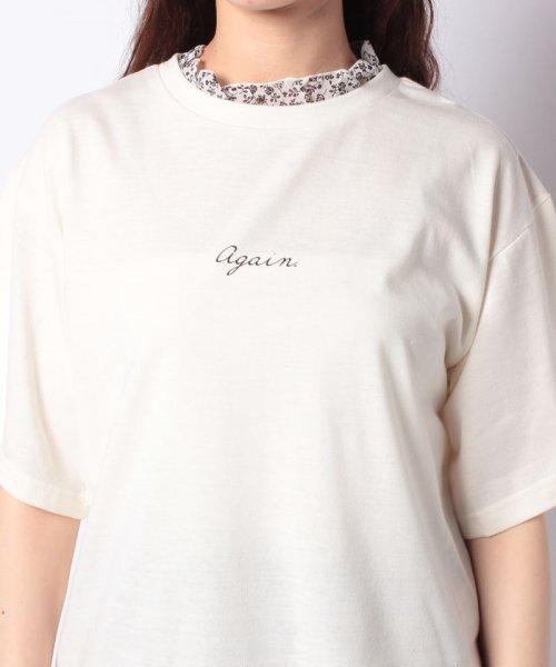 WEGO(ウィゴー)/WEGO/フラワーフリルネックロゴTシャツ/WE19SM06L1553_img15