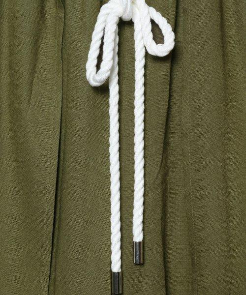 SCOTCLUB(スコットクラブ)/GRANDTABLE(グランターブル) ロープベルトワイドパンツ/022226349_img11