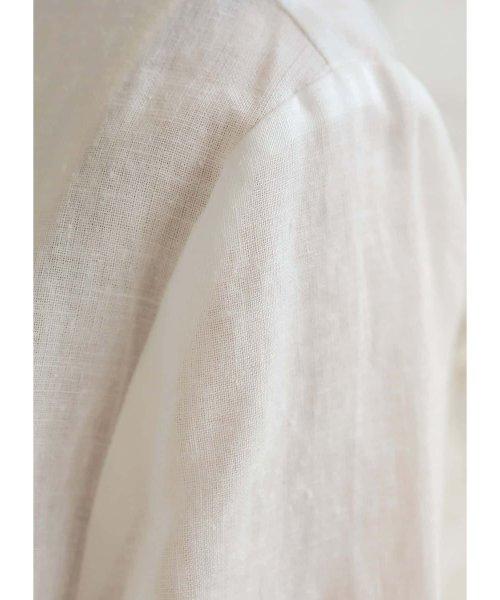 STYLE DELI(スタイルデリ)/リネンノーカラーサマージャケット/233352_img10
