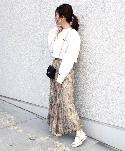 Khaju(カージュ)/《予約》Khaju:プリントプリーツスカート/323240207_img06