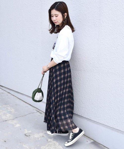Khaju(カージュ)/《予約》Khaju:プリントプリーツスカート/323240207_img15