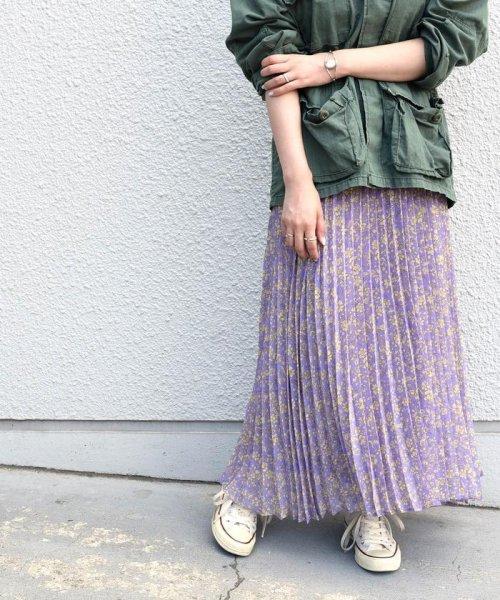 Khaju(カージュ)/《予約》Khaju:プリントプリーツスカート/323240207_img23