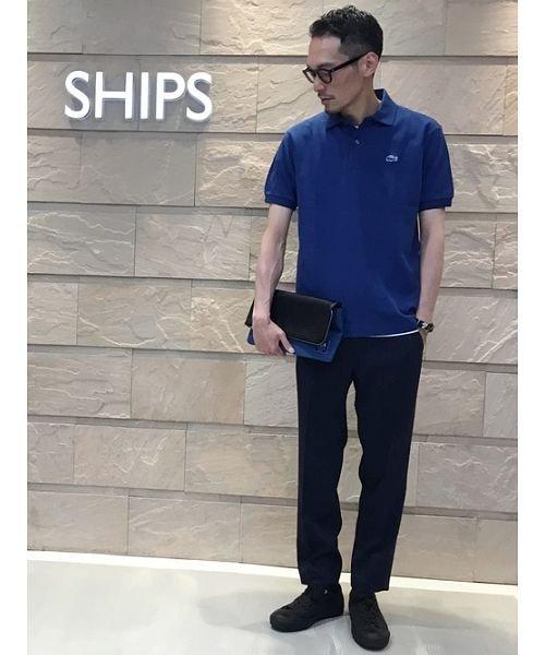 SHIPS MEN(シップス メン)/SC: GARA FLEX イージーパンツ/113100222_img01
