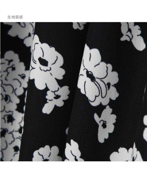 STYLE DELI(スタイルデリ)/2トーンフラワー柄ミディ丈ワンピース/233359_img36