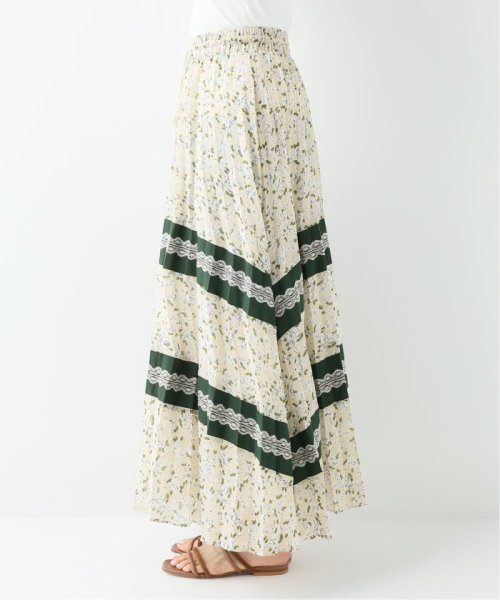 SLOBE IENA(スローブ イエナ)/GHOSPELL PLEATED PANEL ロングスカート/19060913001330_img04