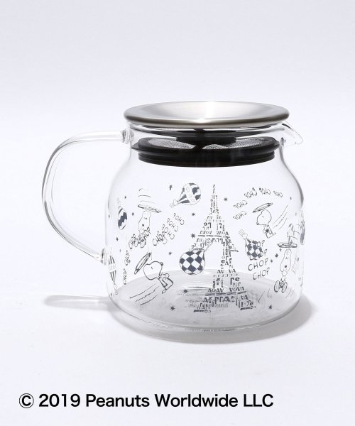 Afternoon Tea LIVING(アフタヌーンティー・リビング)/PEANUTS/茶漉し付き耐熱ポット/GD7819306450_img04