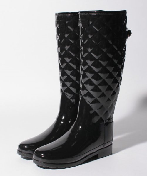 HUNTER(ハンター)/【訳あり】【国内正規品】REFINED GLOSS QUILT TALL/WFT1031RGLB_img01