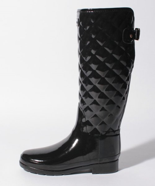 HUNTER(ハンター)/【訳あり】【国内正規品】REFINED GLOSS QUILT TALL/WFT1031RGLB_img02