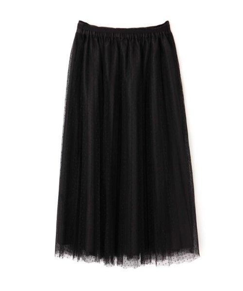 PROPORTION BODY DRESSING(プロポーション ボディドレッシング)/◆ドットチュールプリーツスカート/1219220802_img03