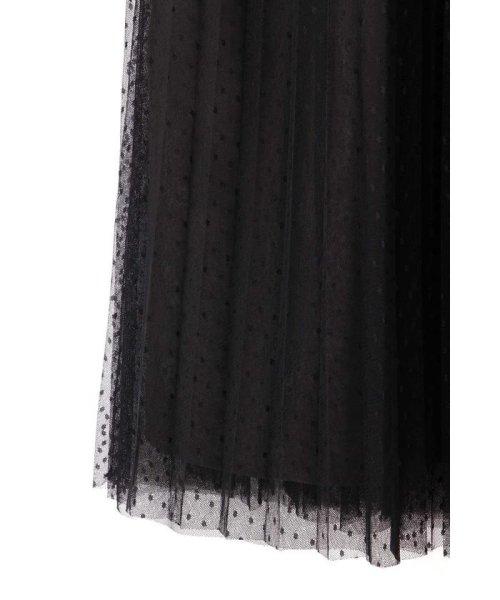 PROPORTION BODY DRESSING(プロポーション ボディドレッシング)/◆ドットチュールプリーツスカート/1219220802_img05