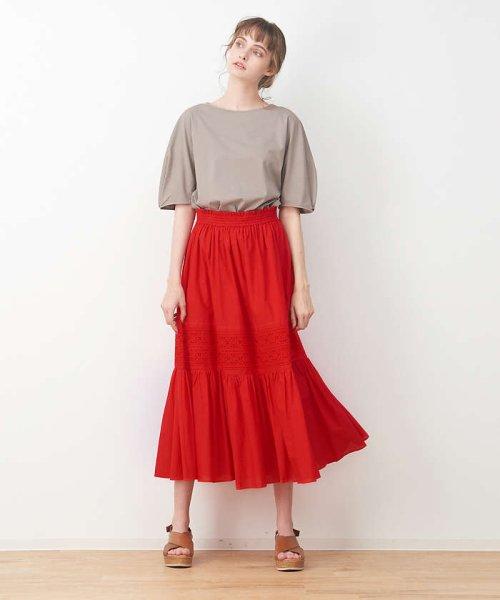collex(collex)/刺繍スカート/60390612000_img02