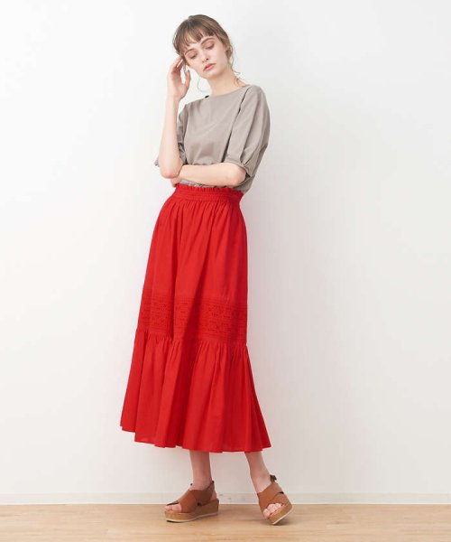 collex(collex)/刺繍スカート/60390612000_img03