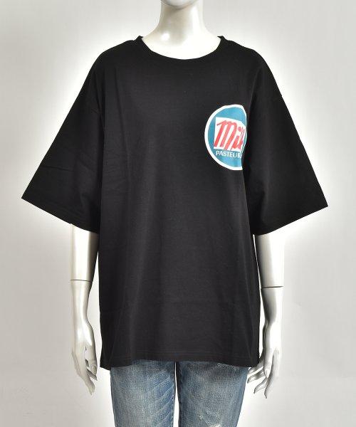 felt maglietta(フェルトマリエッタ)/オーバーサイズゆるかわBIGTシャツ/am206_img01